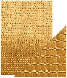 Papel A4 DeLuxe textura 3D Yellow Bamboo