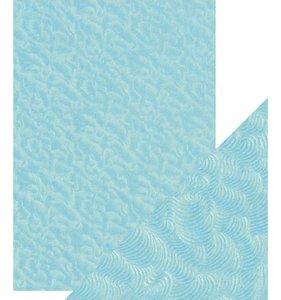 Papel A4 DeLuxe textura 3D Caribbean Tide