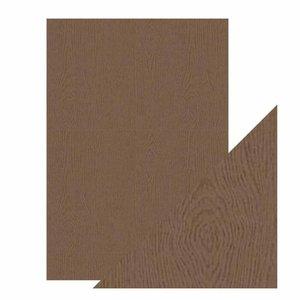 Papel A4 DeLuxe textura 3D Oak Woodgrain
