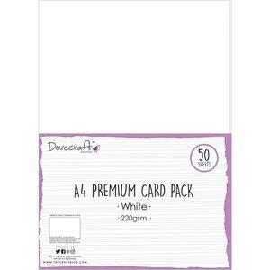 Pack Premium 50 cartulinas blancas A4