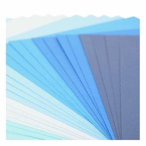"Pad Cartulinas texturizadas Florence 12x12"" Blue Tones 24 pcs"