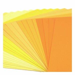 """Pad Cartulinas texturizadas Florence 12x12"""" Yellow Tones 24 pcs"""
