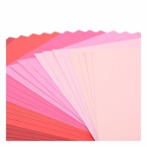"""Pad Cartulinas texturizadas Florence 12x12"""" Rose Tones 24 pcs"""