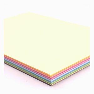 Pad Cartulinas lisas Florence A4 Multi Color 60 pcs