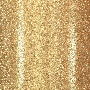 "Cartulina Adhesiva Glitter Fine 12x12"" Gold"