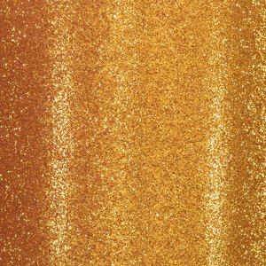 """Cartulina Adhesiva Glitter Fine 12x12"""" Dark Gold"""