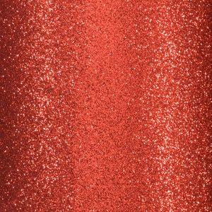 """Cartulina Adhesiva Glitter Fine 12x12"""" Red"""