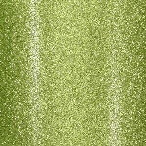 "Cartulina Adhesiva Glitter Fine 12x12"" Lime Green"