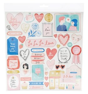 Chipboard LaLaLove