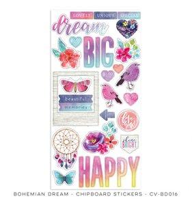 Chipboard 6x12 Bohemian Dream