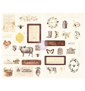 Pegatinas de chipboard Spring Farmhouse