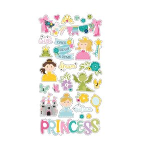 "Chipboard 6""x12"" Little Princess"