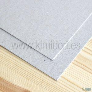 "Cartón contraencolado gris 2 mm 12""x12"""