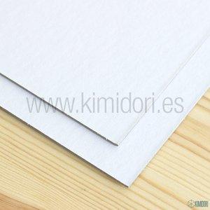 """Cartón contraencolado blanco 1,25 mm 12""""x12"""""""