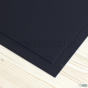 "Cartón contraencolado negro Supreme 1,50 mm 12""x12"""