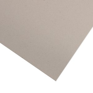 "Cartón contraencolado gris 3 mm 12""x12"""
