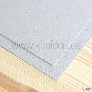 Cartón contraencolado gris 15x15 cm para portadas de Mini Álbum