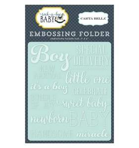 Carpeta de embossing Little One boy
