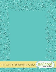 Carpeta de embossing Taylored Expressions Garden Party