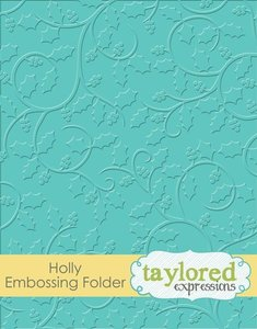 Carpeta de embossing Taylored Expressions Holly