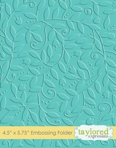 Carpeta de embossing Taylored Expressions Leafy Vine