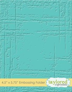 Carpeta de embossing Taylored Expressions Weathered