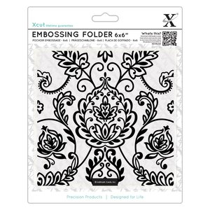 "Carpeta de Embossing 6x6"" Xcut Arts & Crafts Tile"