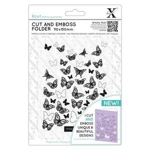 Carpeta de embossing y troquel XCut Butterflies