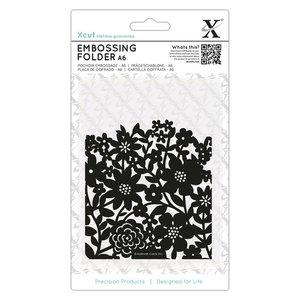 Carpeta de embossing A6 XCut Flower Curtain