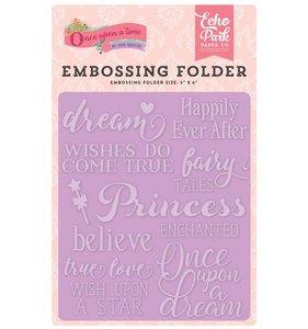 Carpeta de embossing Fairytale Words
