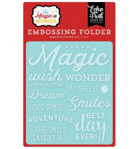 Carpeta de embossing Wish Upon a Star