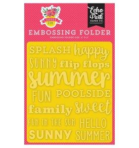 Carpeta embossing Sunny Summer