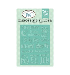 Carpeta de embossing Special Delivery