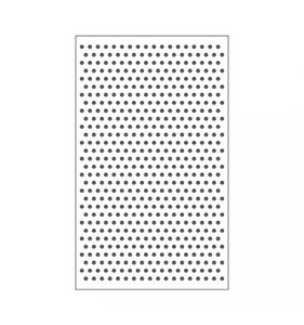 """Carpeta de embossing 3x5"""" Dots"""