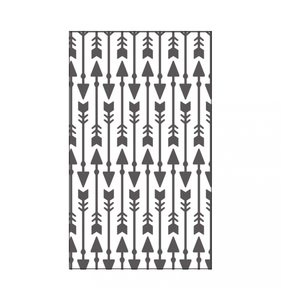 "Carpeta de embossing 3x5"" Ornate Arrows"
