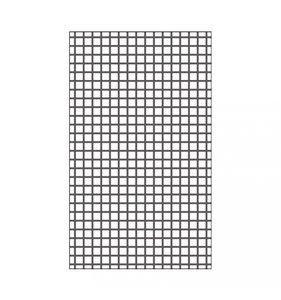"Carpeta de embossing 3x5"" Grid"
