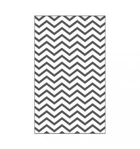 "Carpeta de embossing 3x5"" Zigzag Line"