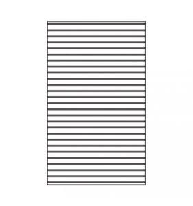 "Carpeta de embossing 3x5"" Lines"