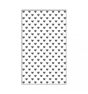 """Carpeta de embossing 3x5"""" Hearts"""