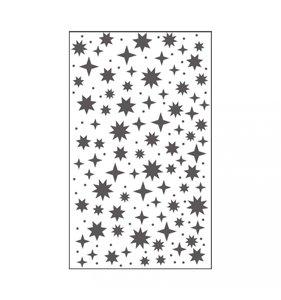 """Carpeta de embossing 3x5"""" Starry Sky"""