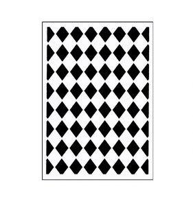 "Carpeta de embossing 3x5"" Classy Diamonds"