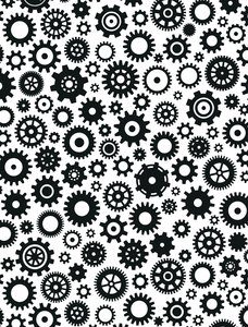 Carpeta de embossing Creative Expressions Cogs & Gears