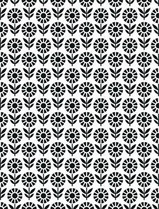 Carpeta de embossing Creative Expressions Field of Flowers