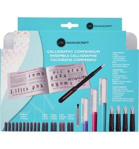 Manuscript Set Caligrafía Compendium