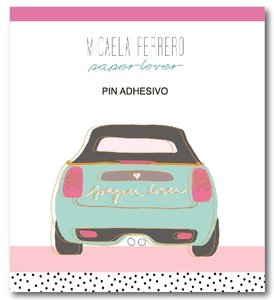 Pin adhesivo Mini Paper Lover