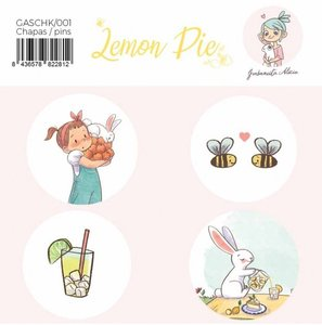 Chapas Lemon Pie por Garbancita Alicia