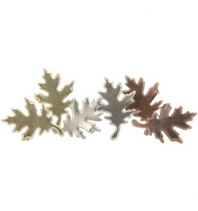 Brads Antique Leaves 25 pcs