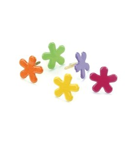 Brads Funky Flowers Tropical 50 pcs