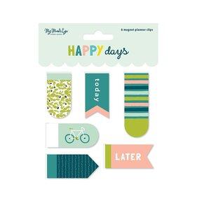 Clips magnéticos Happy Days