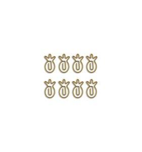 Set de clips 8 pk Piñas
